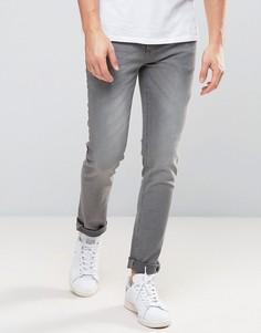 Серые облегающие джинсы River Island - Серый