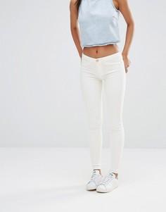 Белые джинсы скинни River Island - Белый