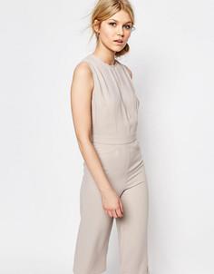 Комбинезон без рукавов с юбкой-шортами Alter Petite - Серый