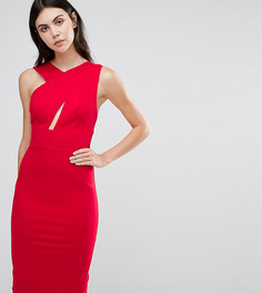 Платье-футляр миди без рукавов TTYA - Красный Taller Than Your Average