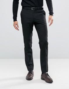 Черные брюки слим River Island - Черный