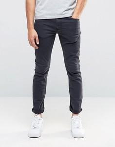Темно-серые джинсы скинни River Island - Серый