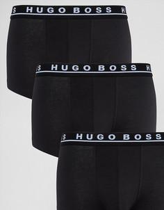 Набор из 3 черных трусов BOSS Black By Hugo Boss - Черный