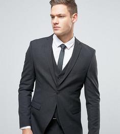 Пиджак суперузкого кроя Selected Homme - Серый
