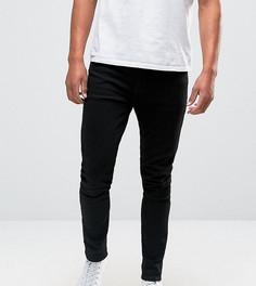 Супероблегающие джинсы черного цвета ASOS TALL - Черный