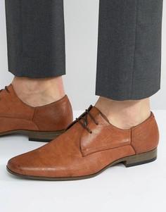 Светло-коричневые строгие туфли River Island - Рыжий
