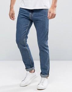 Эластичные узкие джинсы Weekday Wednesday - Синий