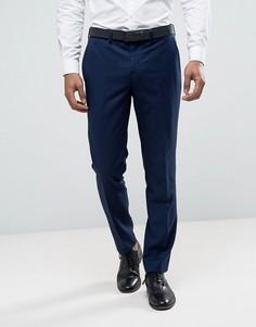 Темно-синие суперузкие брюки River Island - Темно-синий