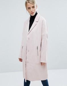 Oversize-пальто Storm & Marie Lydia - Розовый