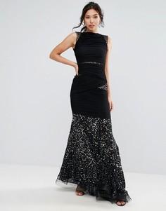 Платье макси Forever Unique - Черный