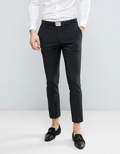 Черные брюки под смокинг River Island - Черный