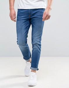 Синие узкие джинсы River Island - Синий