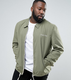 Спортивная куртка цвета хаки River Island PLUS - Зеленый