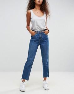 Выбеленные джинсы в винтажном стиле ASOS ORIGINAL - Синий