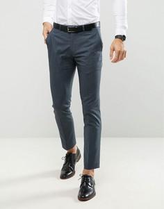 Меланжевые брюки скинни Farah - Зеленый