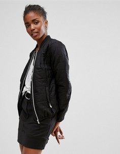 Дутая куртка b.Young - Черный