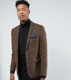 Приталенный пиджак Harry Brown TALL - Темно-синий