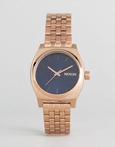 Часы оттенка розового золота Nixon Time Teller - Золотой