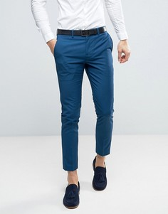 Синие брюки скинни River Island - Синий