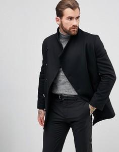 Короткое пальто с асимметрично расположенными пуговицами Religion - Черный