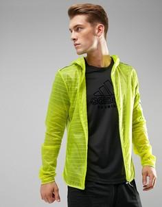 Желтая куртка adidas Running TKO BR5626 - Желтый