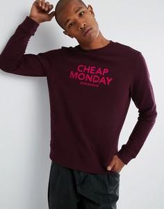 Свитер с логотипом Cheap Monday - Красный