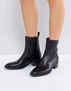 Черные кожаные ботинки Vagabond Meja - Черный