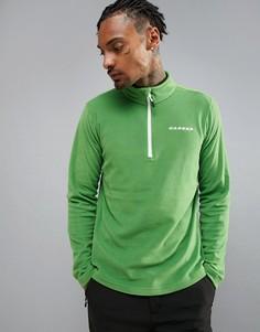 Флисовый свитшот с короткой молнией Dare 2B - Зеленый
