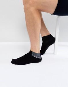 Черные носки с логотипом Calvin Klein - Черный