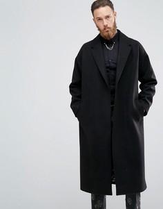Пальто с добавлением шерсти Devils Advocate - Черный