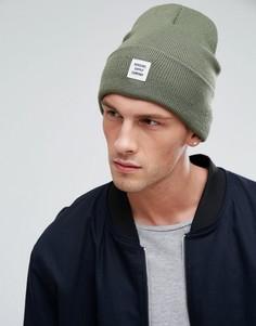 Зеленая шапка-бини Herschel Supply Co Abbott - Зеленый