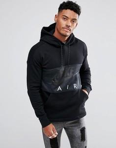 Черный худи Nike Air 863758-010 - Черный