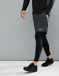 Серые шорты Nike Running Flex Challenger 7 Inch 856838-060 - Серый