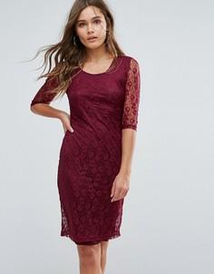 Кружевное платье Glamorous - Красный