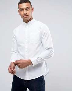 Белая оксфордская рубашка классического кроя River Island - Белый