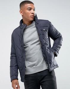 Стеганая куртка Jack & Jones Premium - Темно-синий