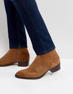 Замшевые ботинки на молнии Vagabond Tyler - Бежевый