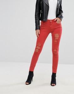 Красные джинсы River Island Amelie - Красный
