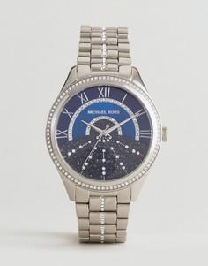 Серебристые часы Michael Kors MK3720 Lauryn - Серебряный