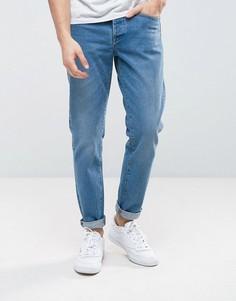 Синие джинсы слим River Island - Синий