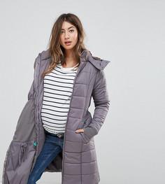 Дутое стеганое пальто 3 в 1 Modern Eternity - Серый