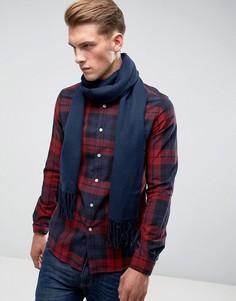Тканый шарф ASOS - Синий