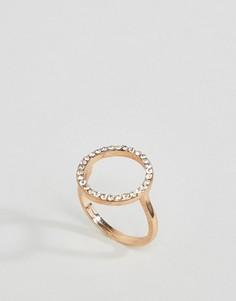 Кольцо с паве River Island - Золотой