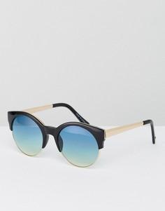 Солнцезащитные очки-авиаторы River Island Ocean Lense - Черный
