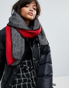 Двусторонний шарф с шевронным узором River Island - Мульти
