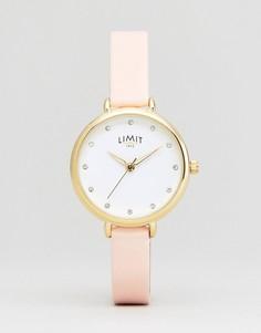 Часы с ремешком из искусственной кожи Limit 6221.37 - Розовый