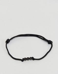 Черный браслет Mister - Черный