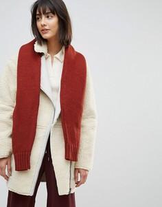 Вязаный шарф в виде рукавов от джемпера ASOS - Мульти