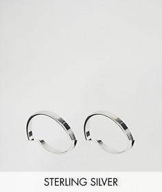Комплект из 2 серебряных колец ASOS - Серебряный