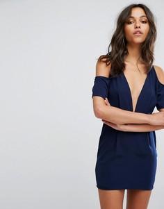 Платье Motel Veratta - Темно-синий